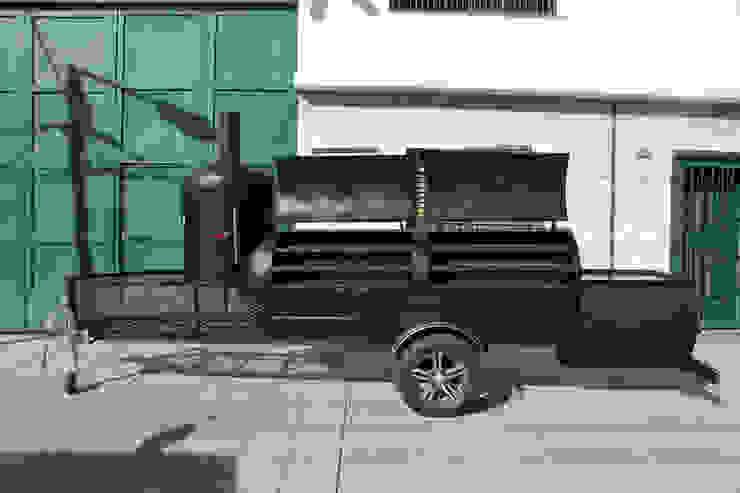 Ahumador de carne Jaguar de Smoke Kit BBQ Rústico Hierro/Acero