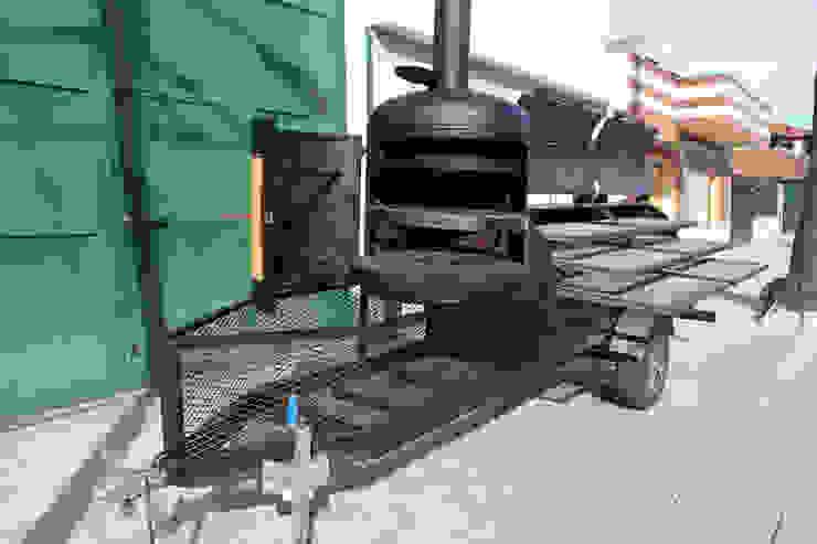 Asador Jaguar de Smoke Kit BBQ Rústico Hierro/Acero