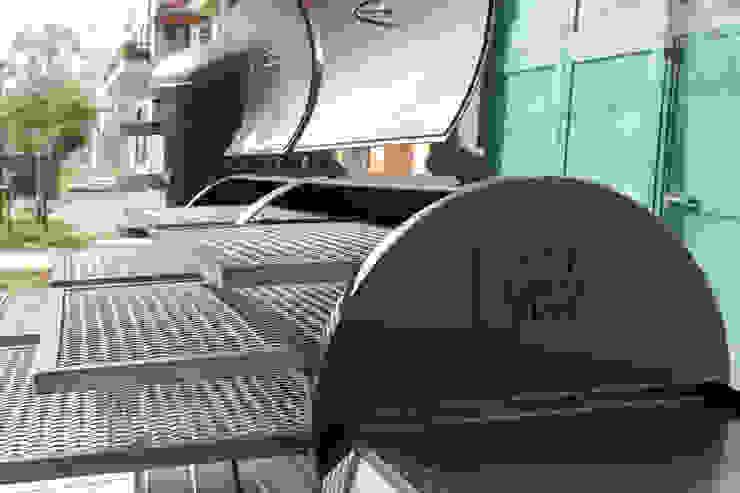 Ahumador Jaguar de Smoke Kit BBQ Rústico Hierro/Acero