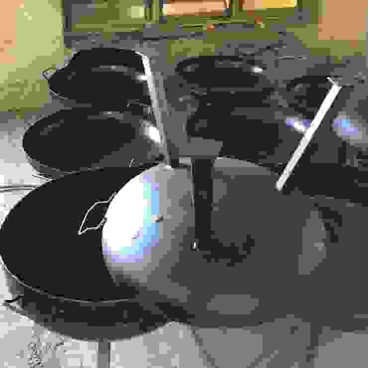 Fogones Smoke King de Smoke King Ahumadoras Rústico Hierro/Acero