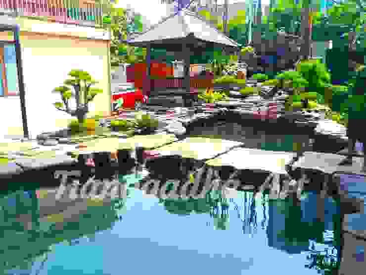 Kolam ikan koi Oleh Tukang Taman Surabaya - Tianggadha-art Tropis Batu