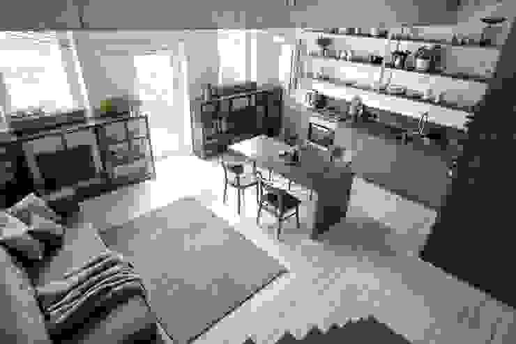 Интерьер KAS INT2architecture Кухня в стиле лофт