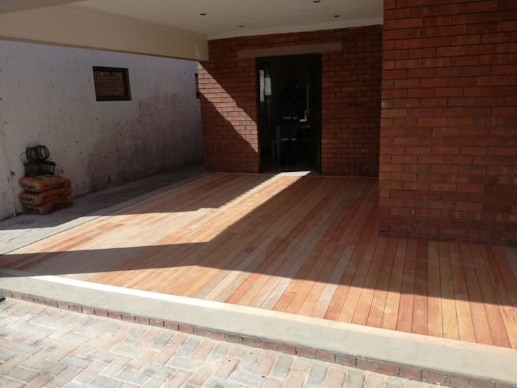 Decking the verander by Pulse Square Constructions