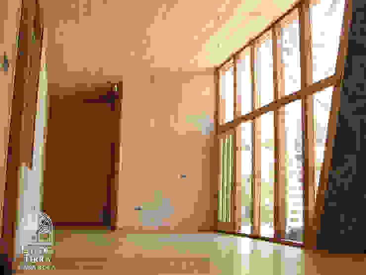 Casa Roca Livings de estilo moderno de Estudio Terra Arquitectura & Patrimonio Moderno