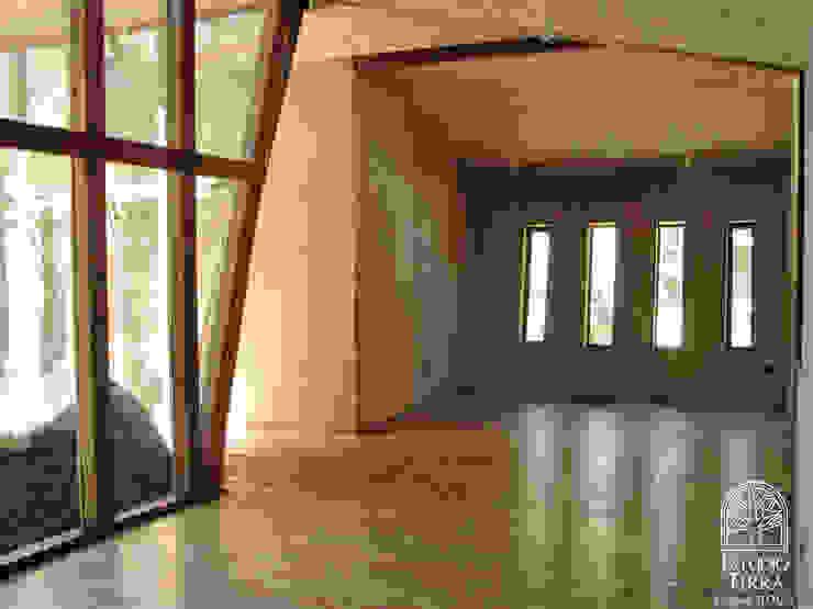 Casa Roca Comedores de estilo moderno de Estudio Terra Arquitectura & Patrimonio Moderno