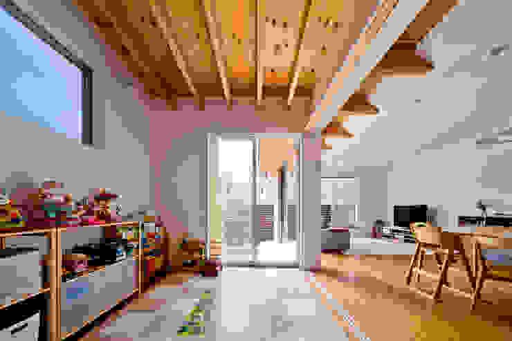 南国の家: キリコ設計事務所が手掛けた子供部屋です。