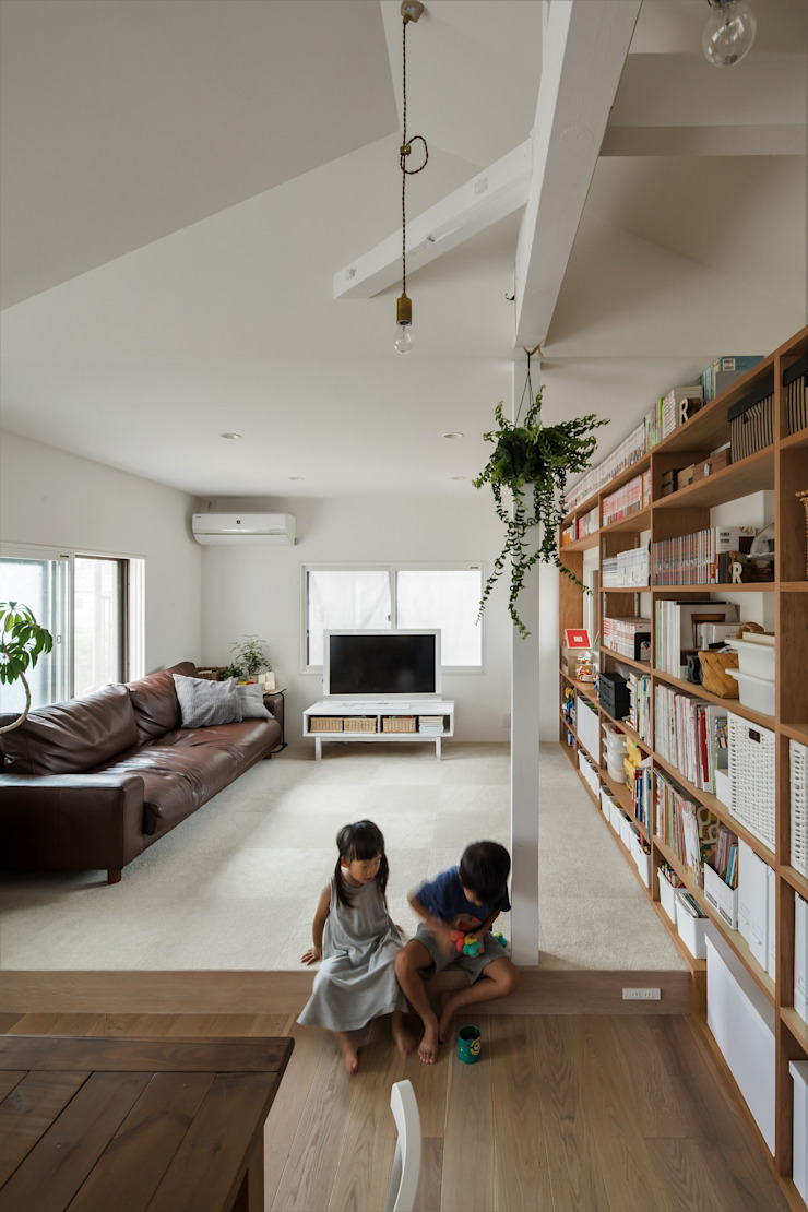 Phòng khách phong cách Địa Trung Hải bởi ALTS DESIGN OFFICE Địa Trung Hải