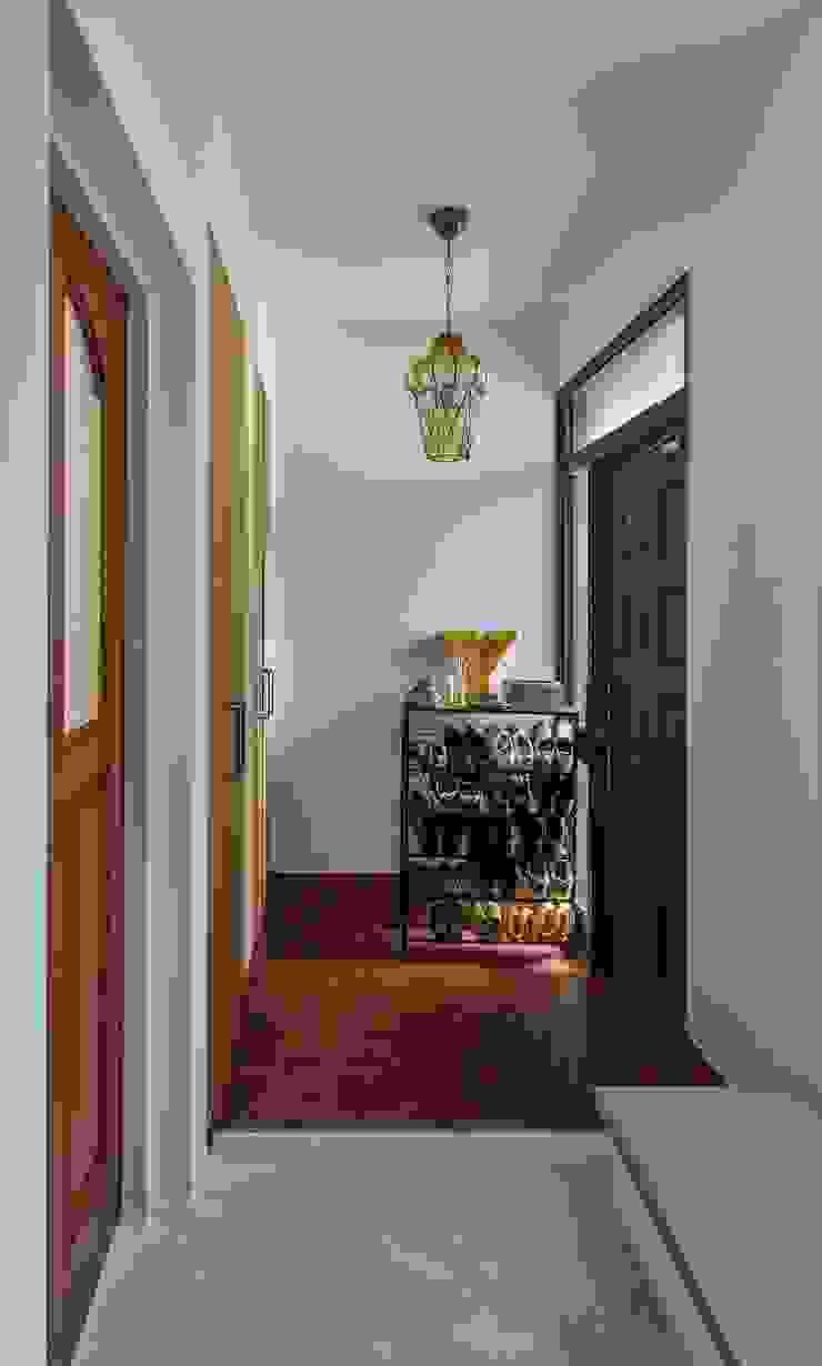 Hành lang, sảnh & cầu thang phong cách Địa Trung Hải bởi ALTS DESIGN OFFICE Địa Trung Hải