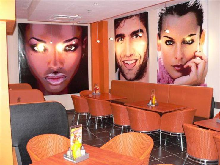 Maxis Restaurant Revamp by Art Space Industrial