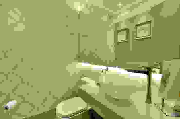 LAVABO Motta Viegas arquitetura + design Banheiros modernos MDF Bege