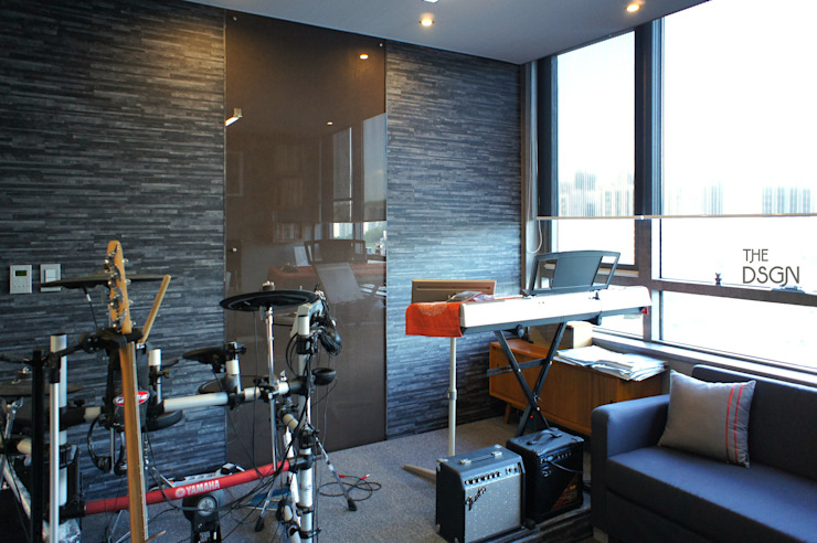 더디자인 the dsgn 现代客厅設計點子、靈感 & 圖片