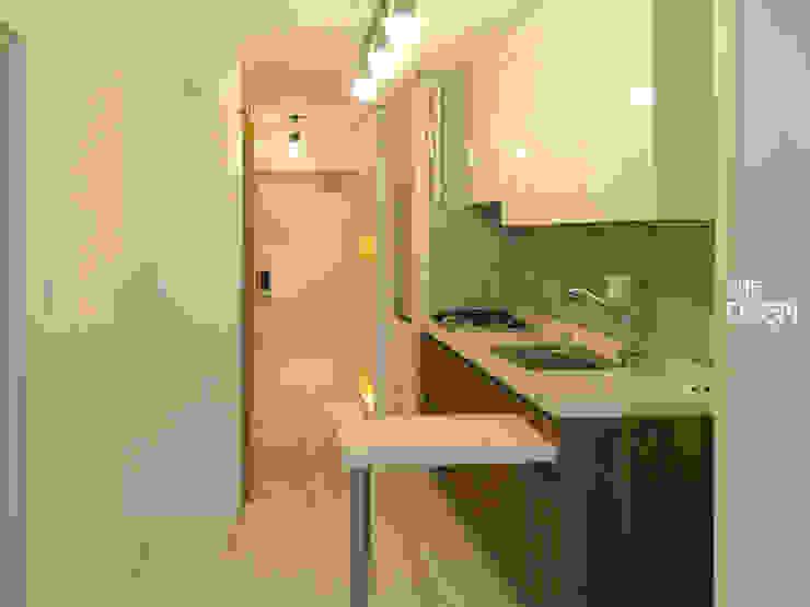 Kitchen by 더디자인 the dsgn, Modern