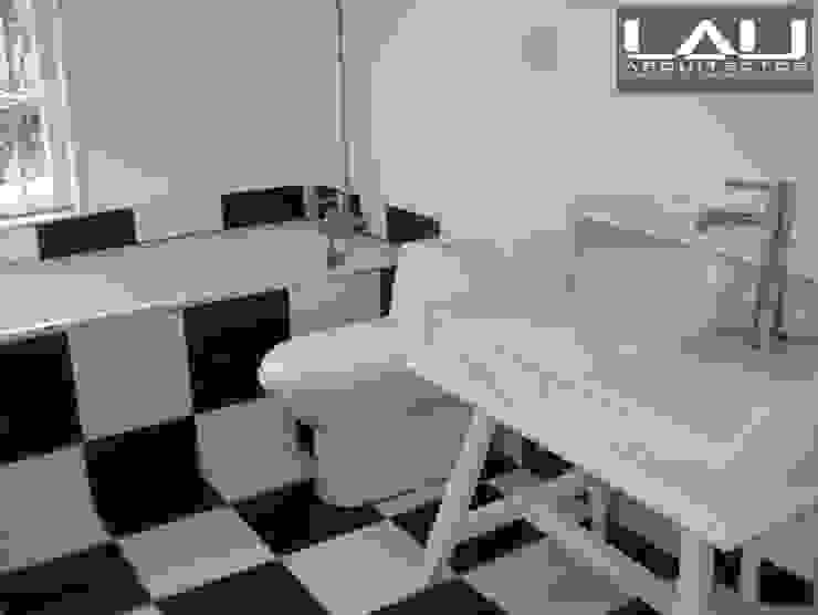 Loft Cerro Alegre Baños de estilo minimalista de Lau Arquitectos Minimalista