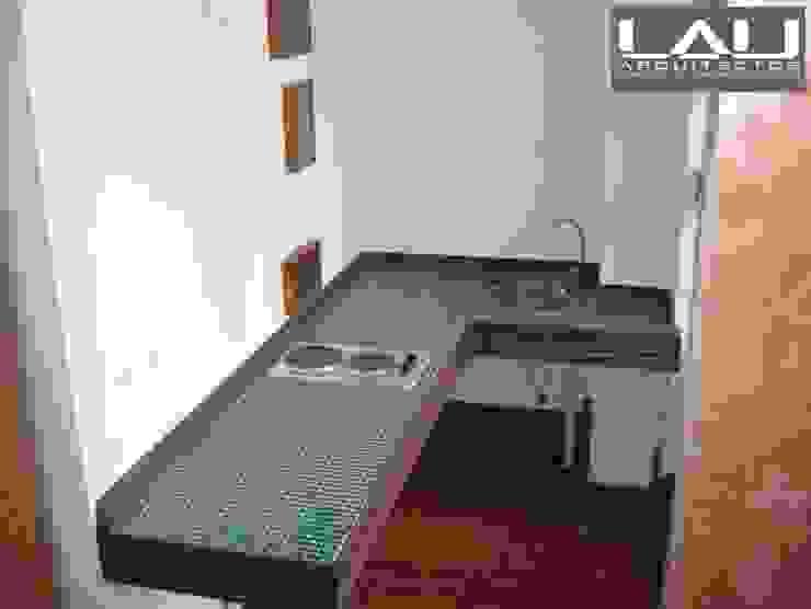 Loft Cerro Alegre Cocinas de estilo minimalista de Lau Arquitectos Minimalista