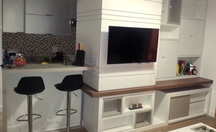 Modern living room by Donna Design Modern