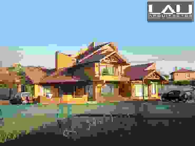 Casa Basso Casas de estilo colonial de Lau Arquitectos Colonial