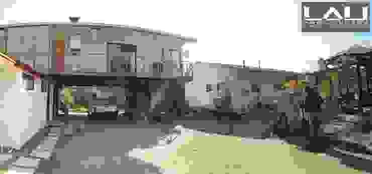 Casa Sobre Contenedores Casas de estilo rural de Lau Arquitectos Rural