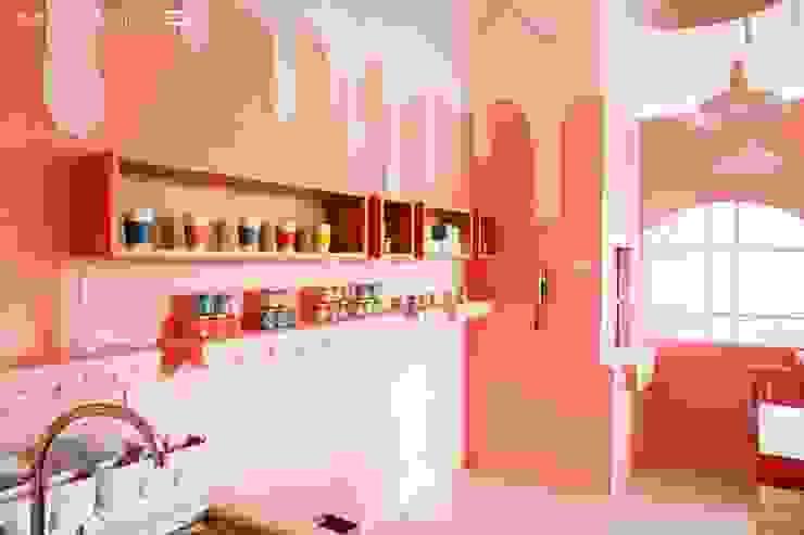 女孩不能錯過!讓人瘋狂的大勢粉色 by 大漢創研室內裝修設計有限公司 Industrial Wood-Plastic Composite