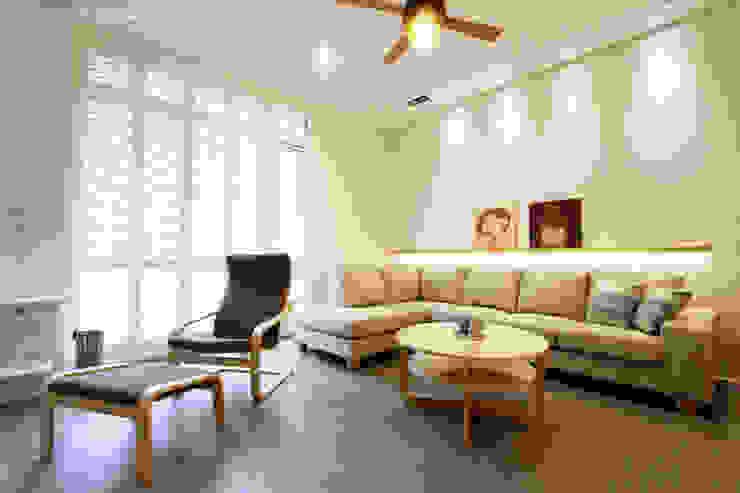 日式無印風格 根據 大漢創研室內裝修設計有限公司 鄉村風 塑木複合材料