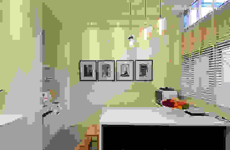 Comedores de estilo moderno de 大漢創研室內裝修設計有限公司 Moderno Compuestos de madera y plástico