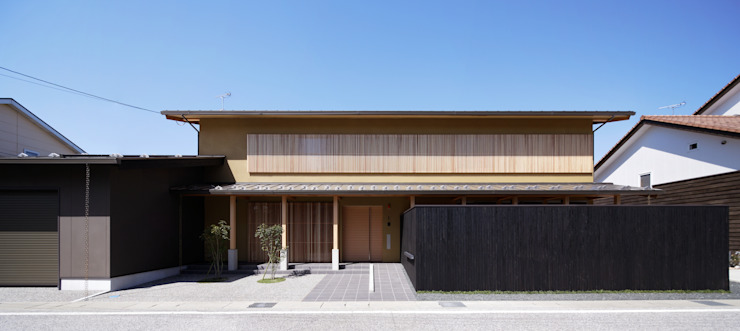 Maisons asiatiques par 空間工房 用舎行蔵 一級建築士事務所 Asiatique