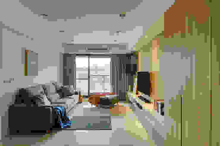 客廳 寬軒室內設計工作室 客廳