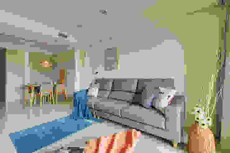客廳 根據 寬軒室內設計工作室 北歐風