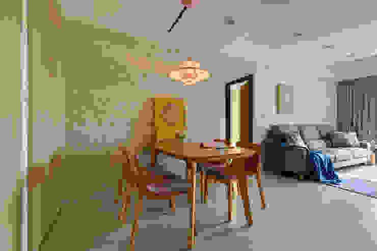 餐廳 根據 寬軒室內設計工作室 北歐風