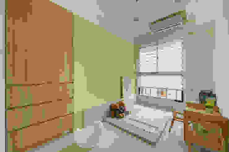 客房 根據 寬軒室內設計工作室 北歐風