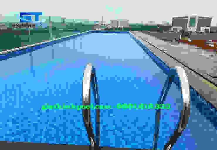 Tư Vấn thiết kế hồ bơi trên sân thượng: modern  by GIA THINHPOOL, Modern