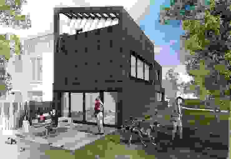 SCHAPENATJESDUIN KAVEL WONING   KIJKDUIN 2018 van Nugter Architectuur Minimalistisch Hout Hout