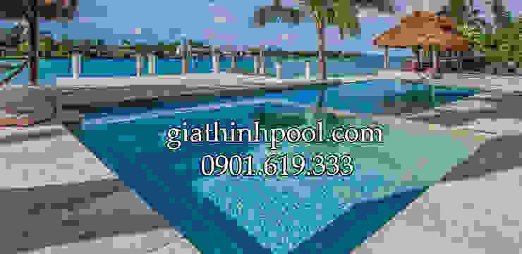 Tư vấn thiết kế hồ bơi kinh doanh: modern  door Gia Thinh Pool, Modern
