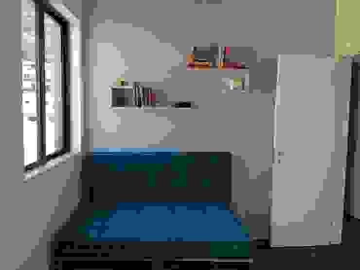 Moderne Schlafzimmer von StudioTrans.Forma Modern Holz Holznachbildung
