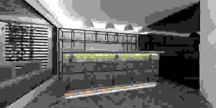 Diseño de Fábrica de Pizzas en Vitacura, por DAMRA DIEGO ALARCÓN & MANUEL RUBIO ARQUITECTOS LIMITADA Restaurantes