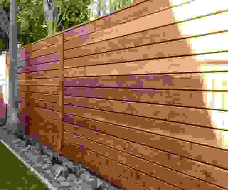 fences Premium commercial remodeling Espacios comerciales Madera Acabado en madera