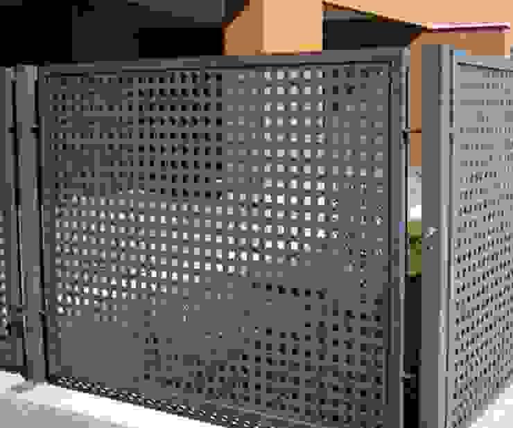 fences Premium commercial remodeling Espacios comerciales Hierro/Acero Metálico/Plateado