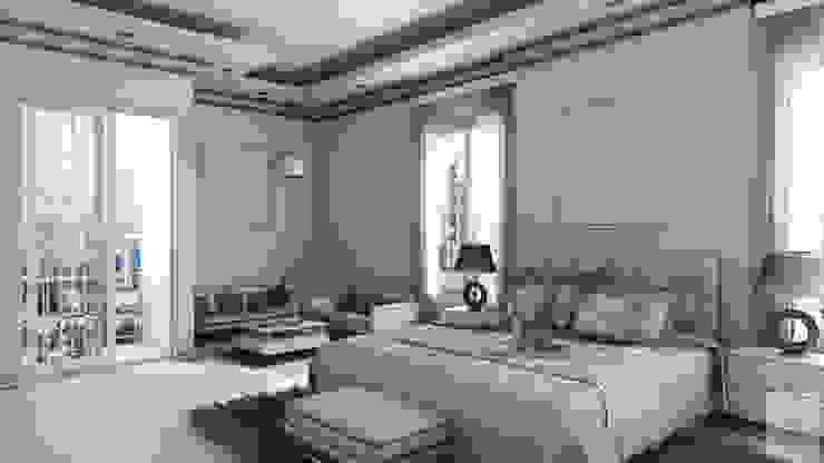 A.BORNACELLI Camera da letto moderna