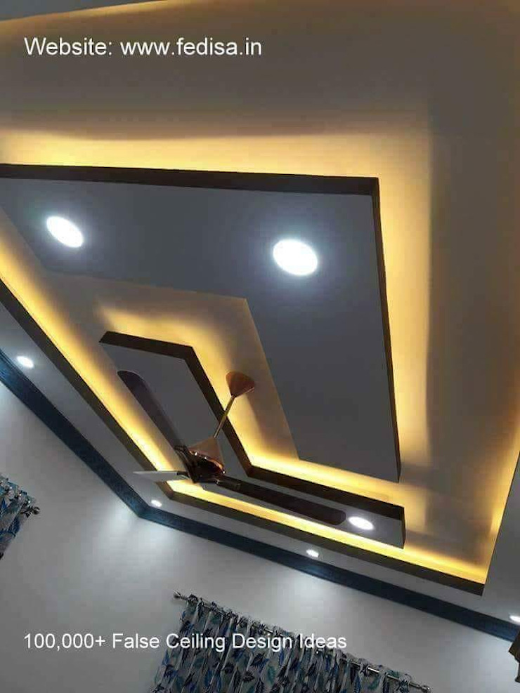L Shape False ceiling by classicspaceinterior