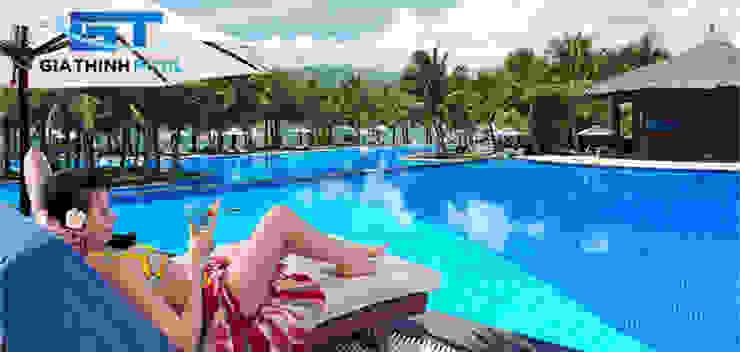 Tư vấn thiết kế hồ bơi nghỉ dưỡng by Gia ThinhPool