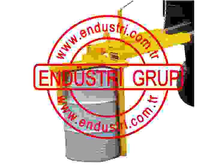 ENDÜSTRİ GRUP-Forklift Varil Taşıma Çevirme Ataşmanı ENDÜSTRİ GRUP Endüstriyel
