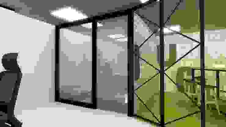 Espaces de bureaux modernes par 아임커뮤니케이션즈 Moderne