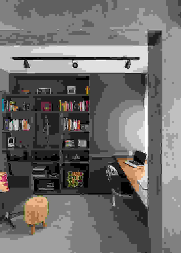Escritório| Home Office Escritórios modernos por Rabisco Arquitetura Moderno Concreto