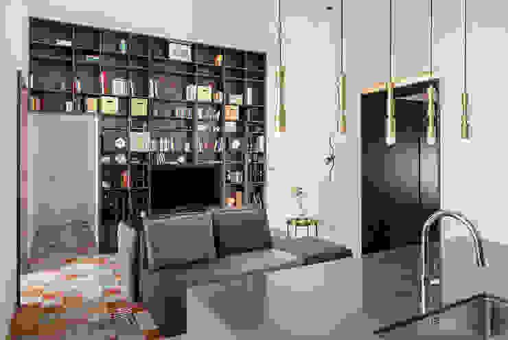 Zona Living manuarino architettura design comunicazione SoggiornoSupporti TV & Pareti Attrezzate
