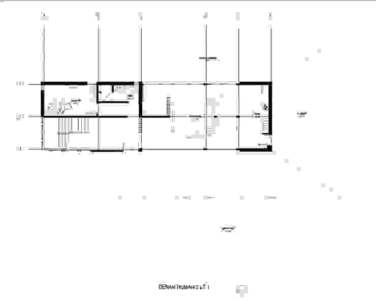 MS House Oleh GUBAH RUANG studio