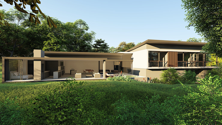 CA Architects Rumah Modern