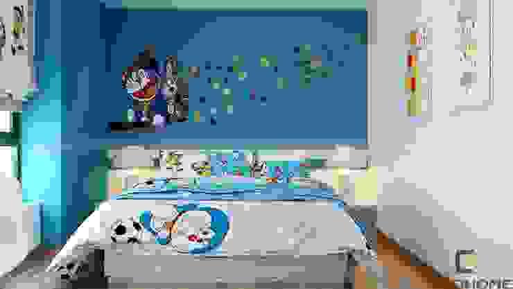 Phòng ngủ ngon:  Phòng ngủ by Công Ty TNHH Xây Dựng & Nội Thất ECO Việt Nam