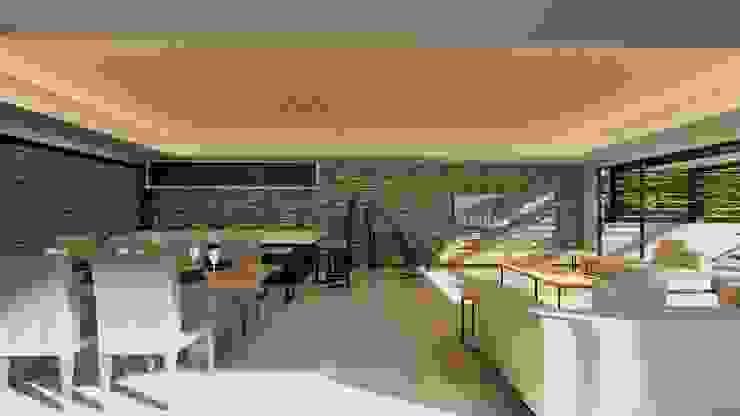 38 SAGILA Modern living room by CA Architects Modern