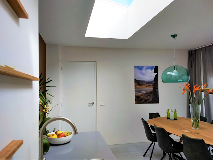 Interieur (1) Moderne eetkamers van Bolier Ontwerp & Bouwregie Modern