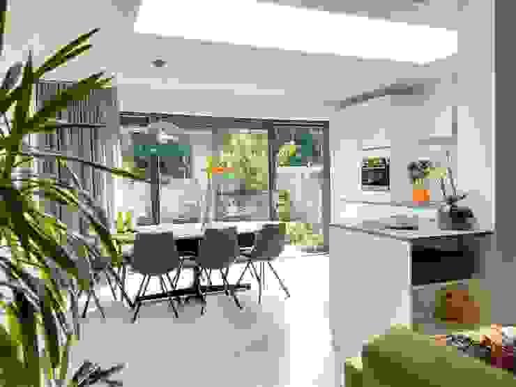 Interieur (2) Moderne eetkamers van Bolier Ontwerp & Bouwregie Modern