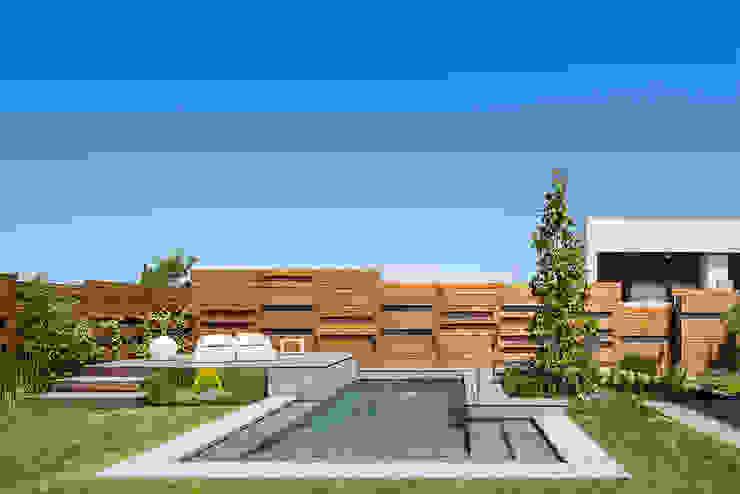 AGi architects arquitectos y diseñadores en Madrid Садовий басейн Дерево